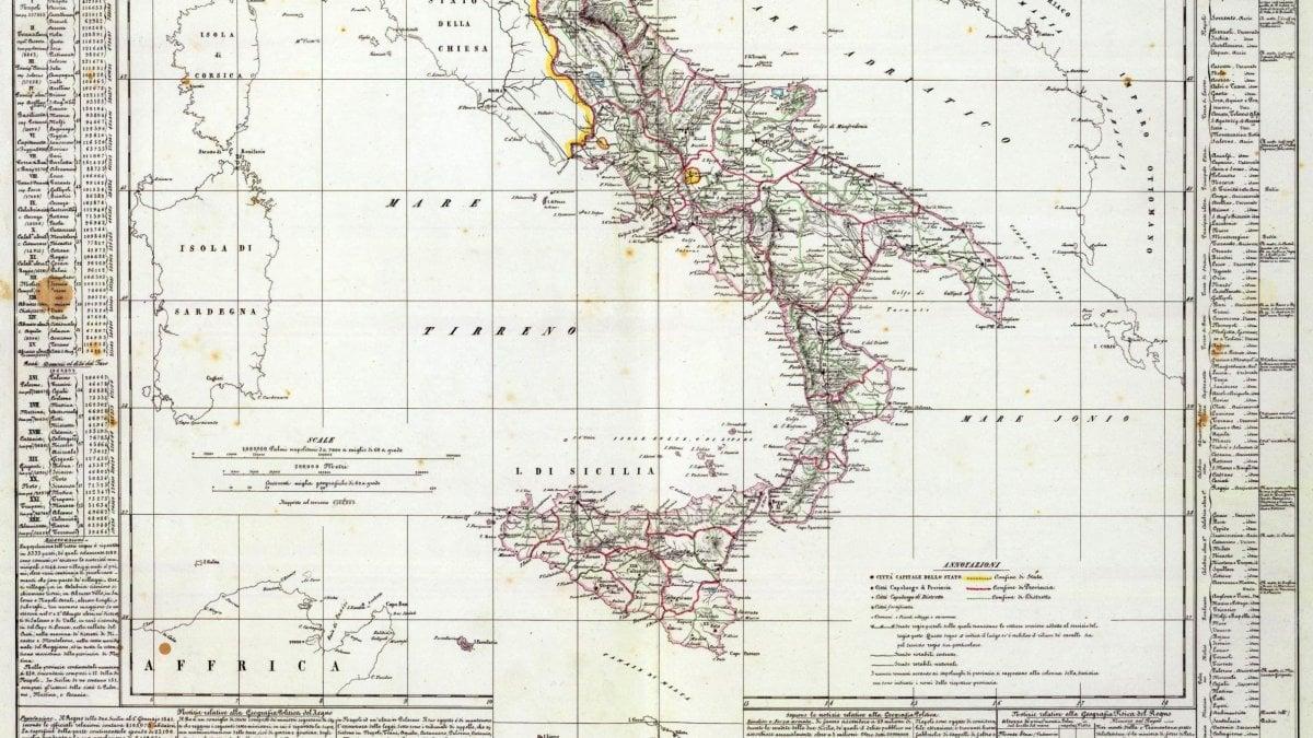 Cartina Politica Italia 1860.Quel Reame Felice Esiste Soltanto Nelle Bufale La Repubblica