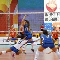 Volley, Europei donne: Italia travolta dall'Olanda e fuori nei quarti