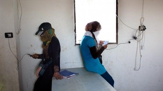 A Raqqa, nel carcere delle donne della Jihad