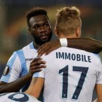 Lazio-Zulte Waregem 2-0: Caicedo e Immobile gol nel silenzio