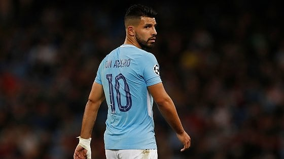 Manchester City, incidente in taxi per Aguero: rischia due mesi di stop