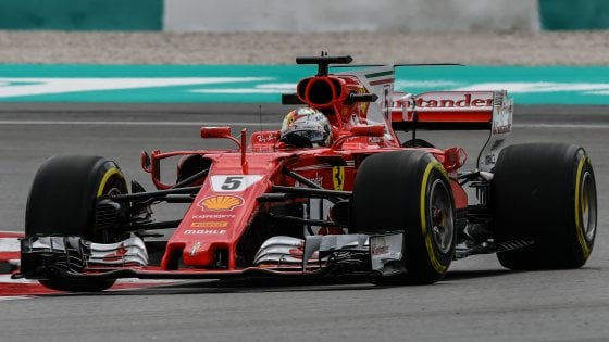 F1, Malesia: Ferrari in grande forma, ma la pioggia è un incubo