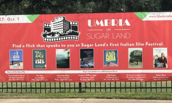 "Tra film e tartufi, il cuore d'Italia vola a Houston con ""Umbria in Sugar Land"""