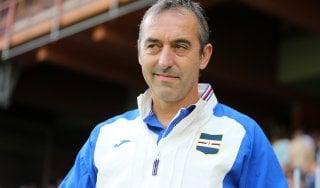 """Sampdoria, Giampaolo: """"Piedi per terra dopo i complimenti. Evitiamo di essere presuntuosi"""""""