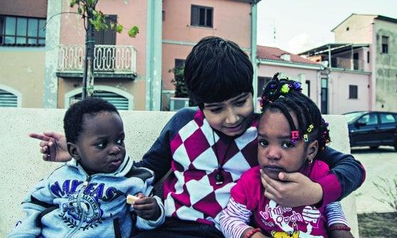 La carica dei profughi bambini che riporta in vita i piccoli borghi