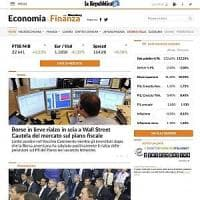 L'economia di Repubblica.it si