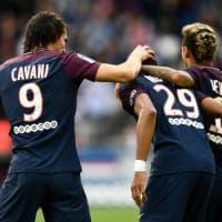 Francia, il Psg esagera: 6-2 al Bordeaux. Neymar rigorista al posto di Cavani