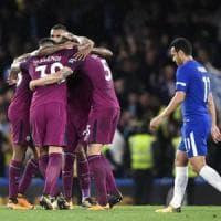 Inghilterra, colpo City in casa Chelsea: una perla di De Bruyne affonda Conte