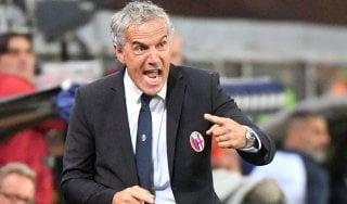 """Bologna, Donadoni: """"La mia squadra è stata brava a crederci"""""""