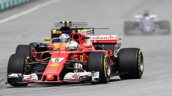 F1, Gp Malesia&#x3b; vince Verstappen ma Vettel è grande: da ultimo a quarto