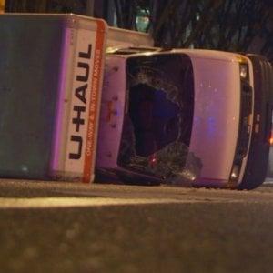 """Canada, camion contro folla: 5 feriti. Polizia: """"È terrorismo"""""""