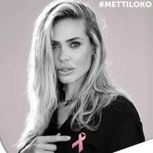 Ilary Blasy e le altre, la campagna Nastro Rosa contro cancro al seno