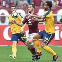 Torino-Verona 2-2, Kean e Pazzini gelano Mihajlovic