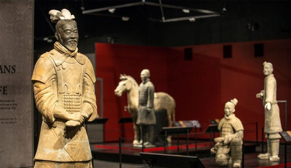 I guerrieri di terracotta cinesi 'ricostruiti' in digitale