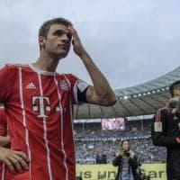 Germania, il Bayern delude anche senza Ancelotti: l'Hertha rimonta da 0-2 a 2-2
