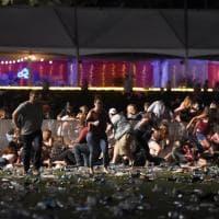 Las Vegas, spari a un concerto di musica country: le immagini