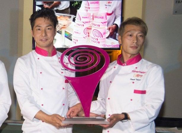 Giapponesi migliori gelatieri. Al concorso mondiale dello Sherbeth vince la leggerezza