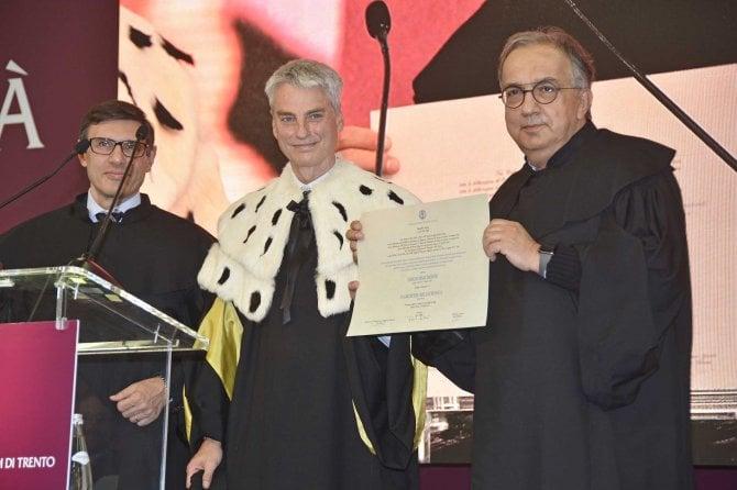 Laurea Magistrale Honoris Causa in Ingegneria Meccatronica a Sergio Marchionne