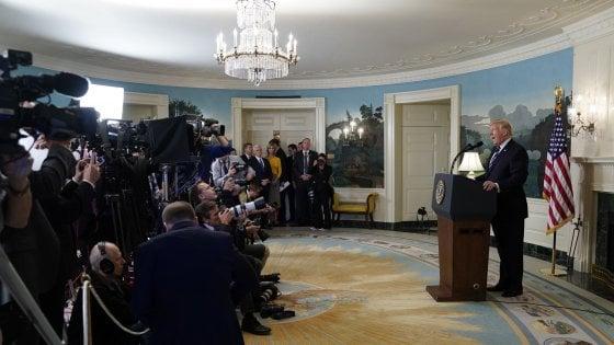 Las Vegas, ma il presidente Trump tace su Isis e armi