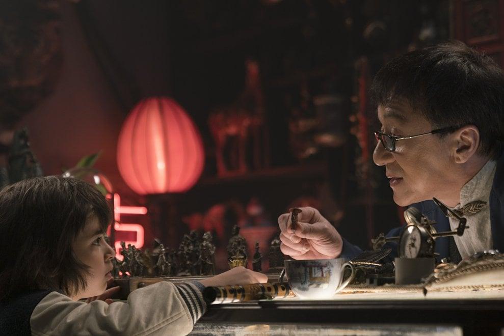 Jackie Chan maestro Wu nel film 'Lego Ninjago'