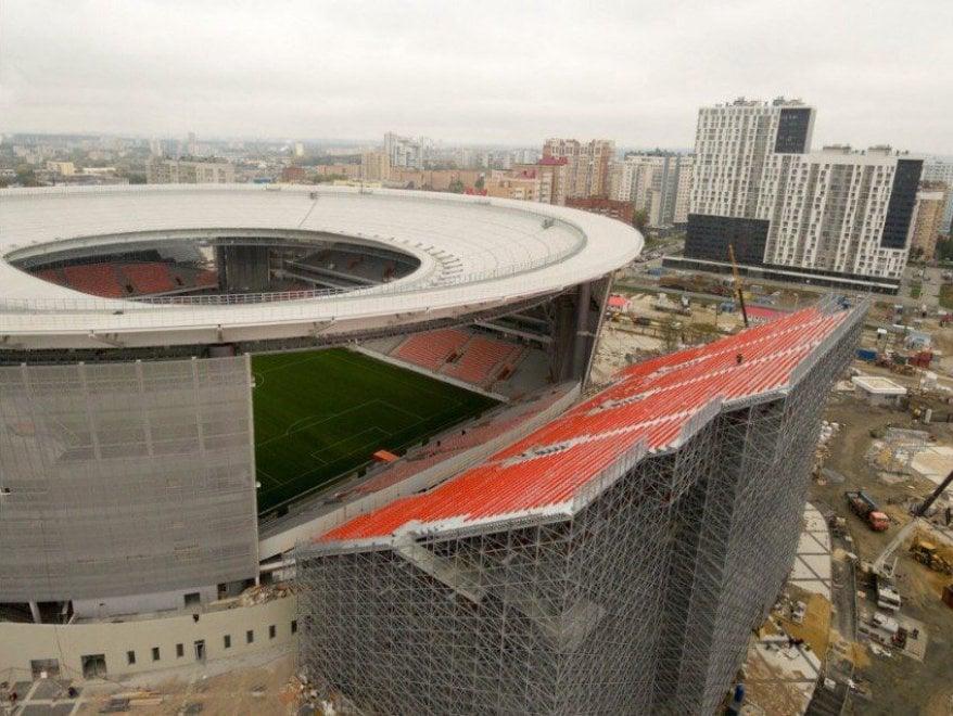 Risultati immagini per russia 2018 stadi