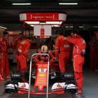 F1, cambio Ferrari di Vettel ok per il Giappone