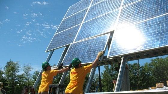 """""""E' l'era del fotovoltaico"""": nel 2016 è cresciuto del 50%"""