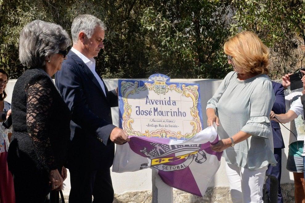'Via José Mourinho', a Setubal una strada per lo Special One