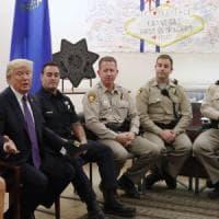 Strage Las Vegas, Trump incontra i feriti e li invita alla Casa Bianca