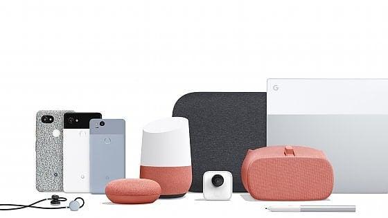 """Google, ecco i nuovi smartphone Pixel 2: """"Puntiamo tutto sull'intelligenza artificiale"""""""
