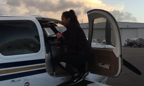 """""""Sono nata in un campo profughi, ora volo da sola"""": il record di Shaesta per tutte le ragazze"""