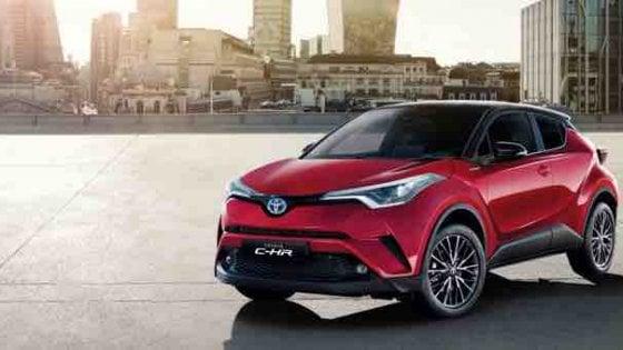 Toyota C-HR, pronta la nuova gamma
