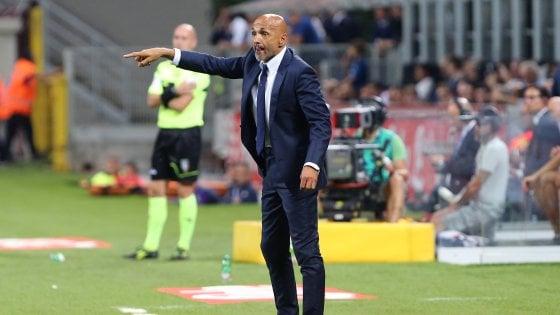 """Inter, Spalletti: """"Derby è una gara per cuori forti. Secondo posto? Bella roba"""""""