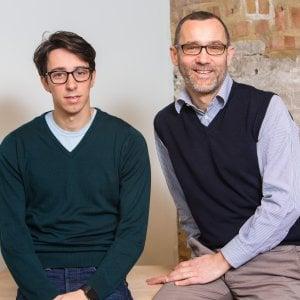 I fondatori di Moneyfarm Giovanni Daprà e Paolo Galvani