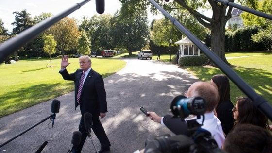 """Trump verso disdetta dell'accordo con l'Iran: """"Aiuta terroristi, non concediamo armi nucleari"""""""