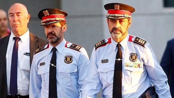 Catalogna: Trapero e Sanchez indagati per sedizione