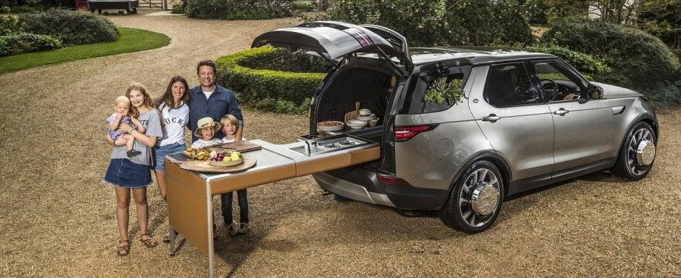 Idea Land Rover: la Discovery diventa cucina da chef