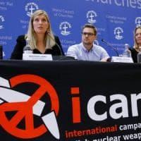 Nobel per la pace, la gioia di Ican per il premio: