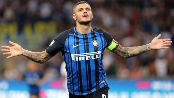 Inter, sospiro di sollievo per Icardi: nessun problema fisico