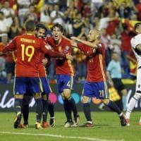 Qualificazioni Mondiali: fa festa la Spagna, Islanda a un passo dal traguardo