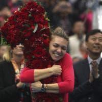 Tennis, doppia gioia per Halep: in finale a Pechino e nuova numero uno al mondo