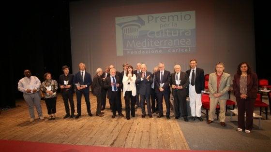 Premio Cultura Mediterranea Carical ad Andrea Riccardi, Canfora, Carofiglio e Sabatini