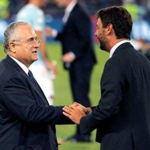 Lega di A: in consiglio federale Lotito, forse Fenucci, no Marotta. Lega di B, spunta Cellino...