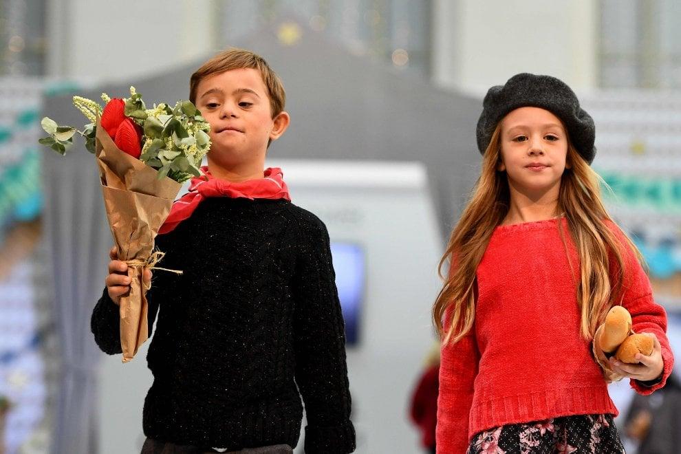 Spagna, la gioia dei bambini Down: modelli per un giorno a Madrid
