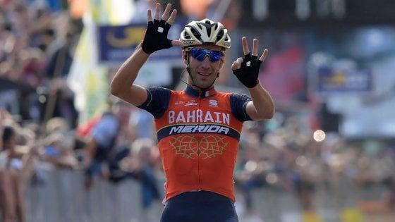 Ciclismo, Nibali fa cinquanta: suo il Giro di Lombardia