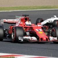 Dal ritiro di Vettel al trionfo di Hamilton: il film del Gp del Giappone