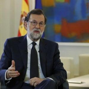 """Il pugno di ferro di Rajoy: """"Bloccheremo l'indipendenza catalana, per ora negoziato impossibile"""""""