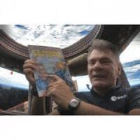 """""""C'è spazio per tutti"""": Rat-Man in orbita con l'astronauta Paolo Nespoli"""