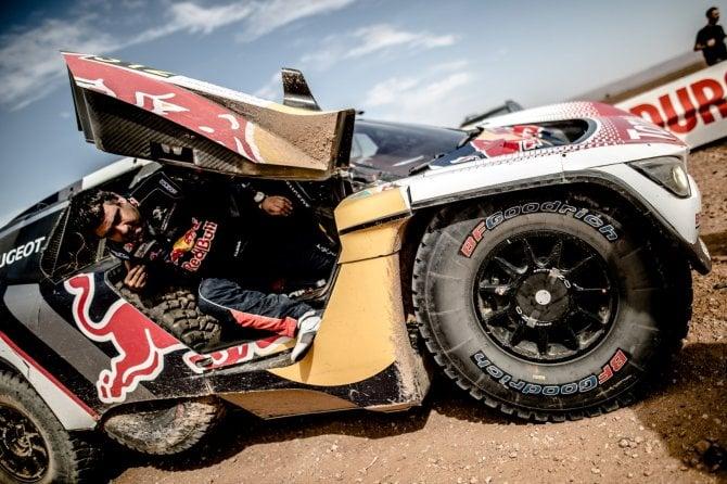 Rally del Marocco - Penultima tappa complicata per il Team Peugeot Total
