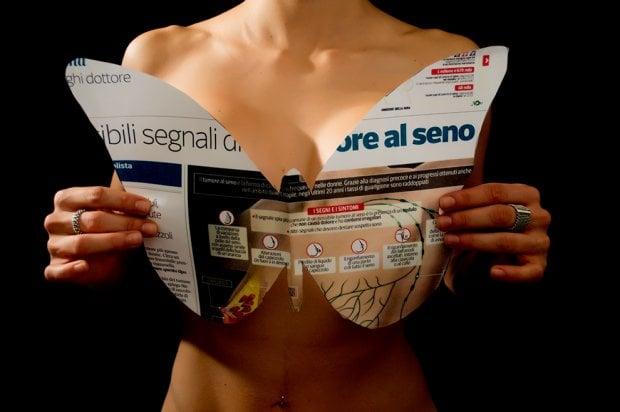 Tumore al seno,  il concorso fotografico 'E io torno a volare'